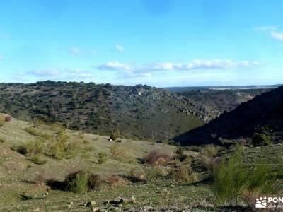 Monasterio Bonaval,Cañón del Jarama; viajes aventura sendero rascafría cotos madrid robregordo